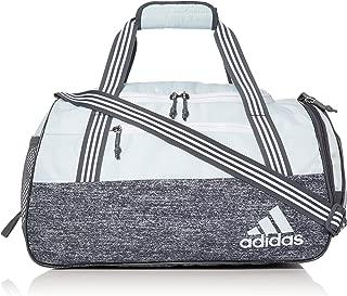 adidas Women's Squad Duffel Bag, Sky Tint Blue/Jersey Onix, ONE SIZE