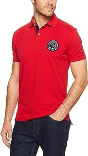 TOMMY HILFIGER Men's Badge Appliqué Cotton Polo