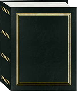 "Pioneer Photo Albums A4-100 Black Photo Album, 100 Pockets 4""x6"""