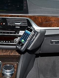 KUDA 2693 Halterung Kunstleder Cognac (L9925) für BMW 5er (G30 / G31) ab 2017