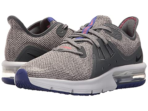 1907cbdeee0f Nike Kids Air Max Sequent 3 (Big Kid) at Zappos.com