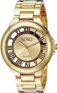 ساعة اكس او اكس او للنساء XO270 ذهبي