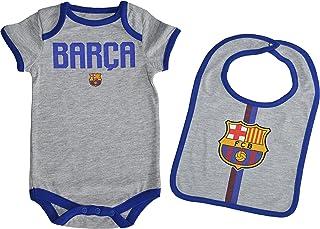 Fc Barcelone Body + Babero bebé Barça - Colecci�