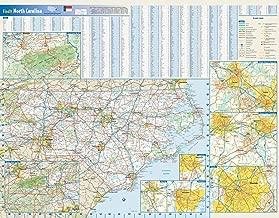 North Carolina State Wall Map - 27.5