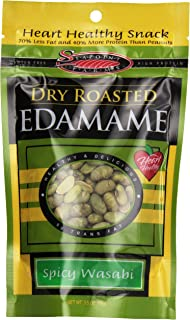 Seapoint Farms, Edamame, Dry Roasted Wasabi, Low Fat, 3.5 oz