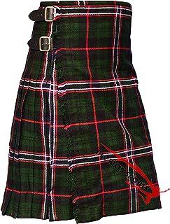 Scottish Men's Traditional National Scottish 8 Yard & 13Oz Tartan Kilts - Tartan Kilt