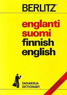 Englanti-Suomi, Suomi-Englanti Sanakirja/English-Finnish, Finnish-English Dictionary (Berlitz Pocket Dictionaries)