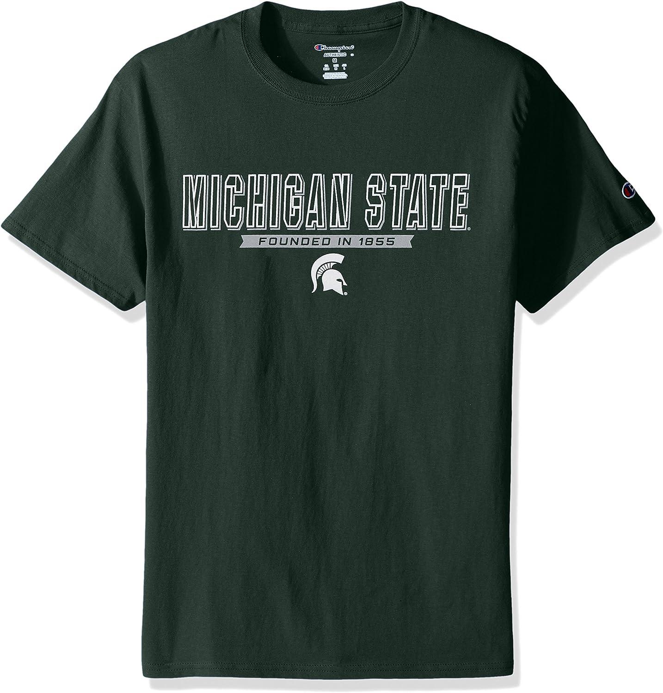 NCAA Mens Men's Champ 3 Sleeve Don't miss the Manufacturer OFFicial shop campaign Short T-Shirt