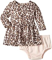 Splendid Littles - Animal Print Loose Knit Dress (Infant)