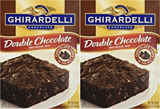 baking 2 boxes of ghirardelli brownies