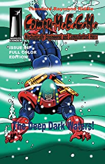 [Compu-M.E.C.H. Issue #4 ]: The Deep Dark Waters! (Full Color Edition) (English Edition)