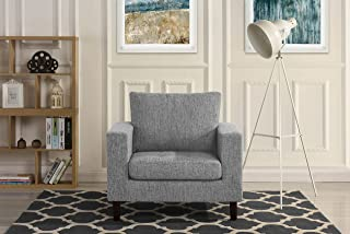 small fabric armchair