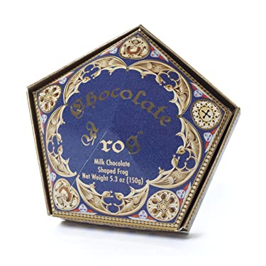 Wizarding World of Harry Potter Chocolate Frog Includes Hogwarts Wizard Card