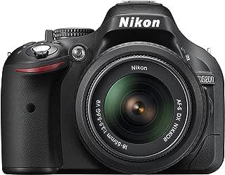 Nikon デジタル一眼レフカメラ D5200 レンズキット AF-S DX NIKKOR 18-55mm f/3.5-5.6G VR付属 ブラック D5200LKBK