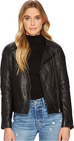 Harwick Leather Moto Jacket