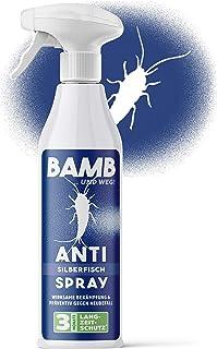 Bamb - Spray contra pececillos de plata - 500 ml de producto contra pececillos de plata en casa -...