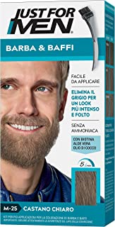 Just for Men® - Bigote y Barba M25 - Castano Chiaro