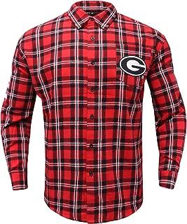 FOCO NCAA Unisex Basic Flannel Shirt