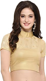 Janasya Women's Long Cholis Saree Blouse
