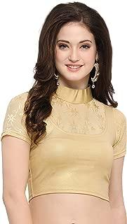 Best golden lycra saree Reviews