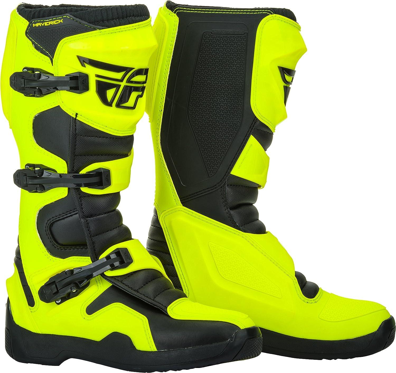 Fly Racing Motocross Mx Steifel Maverik wei/ß Gr/ö/ße 46 Boot Schuh