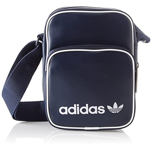 43d54b55a4 Adidas MINI BAG VINT, Unisex Adults' Messenger Bag, Blue (Maruni),