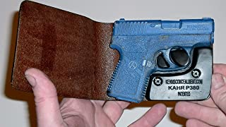 Wallet Holster for Full Concealment - Kahr P380