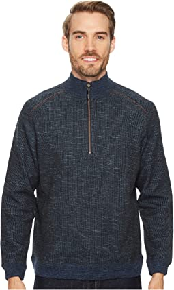 Tommy Bahama - Reversible Flipsider 1/2 Zip Pullover