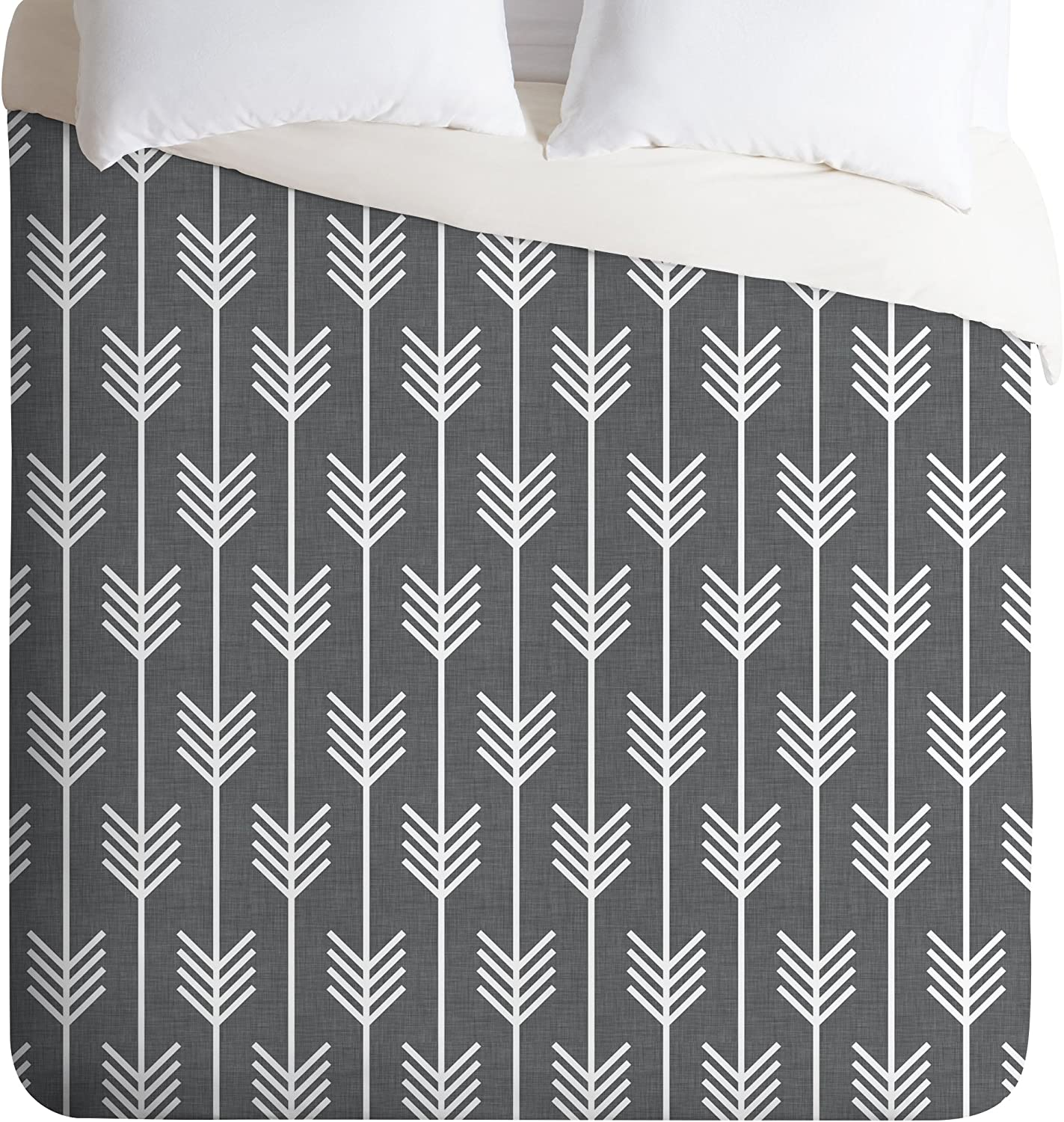 Deny Designs Holli Zollinger Arrows Cover Sacramento Mall Twin Duvet New Orleans Mall Grey
