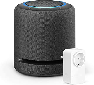 Echo Studio +Amazon Smart Plug (enchufe inteligente wifi), compatible con Alexa