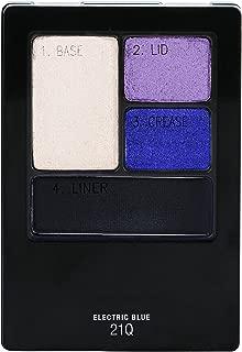 Maybelline New York Expert Wear Eyeshadow Quads, Electric Blue, 0.17 oz.