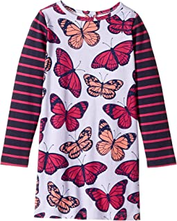 Fluttering Kaleidoscope Mod Dress (Toddler/Little Kids/Big Kids)