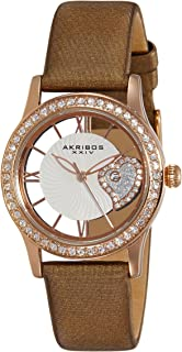 Akribos Casual Watch Analog Display For Women Ak811Br