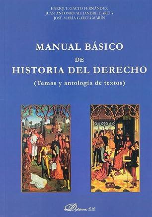 Manual Básico de Historia del Derecho