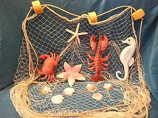 15 ft X 8 Ft TAN Fishing Net, Crab, Lobster, Starfish, Sea S, Fish Net, Fish Netting, Nautical, Nautical Nets, Beach Theme