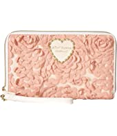 Betsey Johnson - Leather & Lace Wristlet