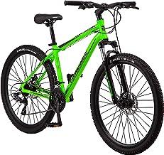 Mongoose Switchback Adult Mountain Bike, 8-21 Speeds, 27.5-Inch Wheels, Aluminum Frame, Disc Brakes, Multiple Colors