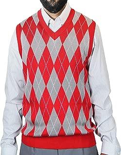 Big Men Argyle Jacquard Sweater Vest