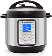 Instant Pot DUO Plus 60, 6 Qt 9-in-1 Multi- Use Programmable Pressure Cooker, Slow Cooker, Rice Cooker, Yogurt Maker, Egg Cooker, Sauté, Steamer, Warmer, and Sterilizer