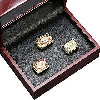 HASTTHOU Washington Redskins Championship Ring by Display Box Set