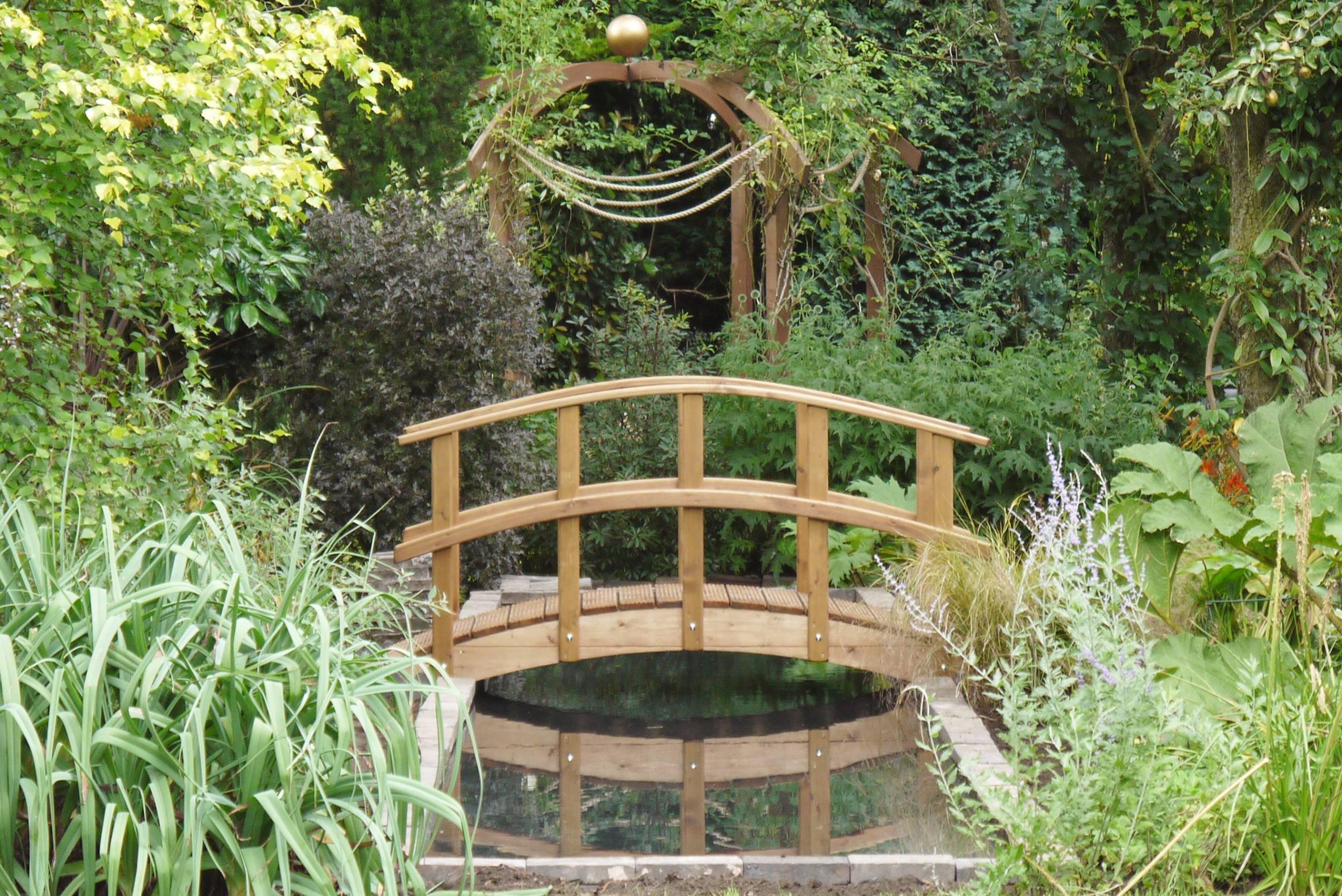 Estilo Monet puente del jardín (cm 182, 88 Monet): Amazon.es: Jardín