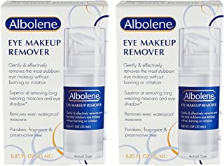 (Pack of 2) Albolene Eye Makeup Remover, 0.85 Ounce EACH