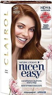 Clairol Nice'n Easy Permanent Hair Color, 5R Medium Auburn, 1 Count