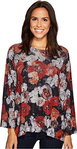 Nally & Millie - Poppy Floral Print Top