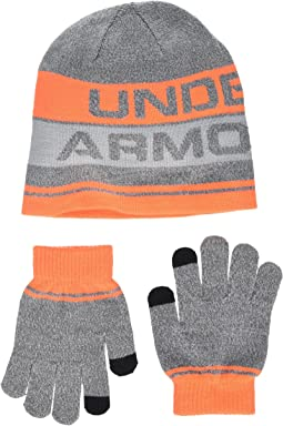 Under Armour - Beanie and Gloves Combo 2.0 (Little Kids/Big Kids)