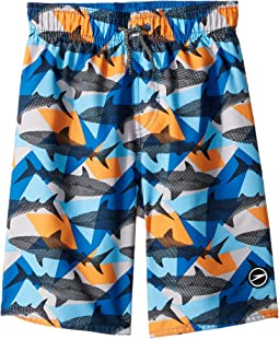 Sharkamo Volley Shorts (Little Kids/Big Kids)