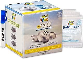 Frog @Ease Smartchlor Cartridges 3 Pack, 3 Jump Start Packets for Spa Hot Tubs and Hand Sanitizer Included