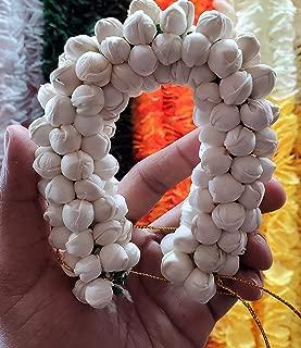 Ladies artificial jasmine Gajra Veni hair accessories,wow Looks 100% real.