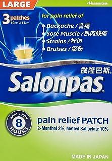 Salonpas Pain Relief Patch, Large, 3ct