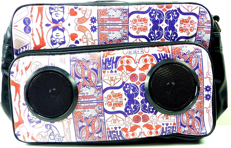 USA NEUHEIT  Sound Bags Taschen mit eingebauten Soundboxen (Silent Weiß) B00MYAJDGG